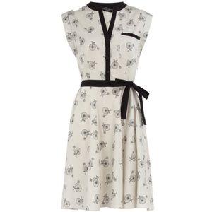 Dorothy Perkins, Bicycle Print Dress